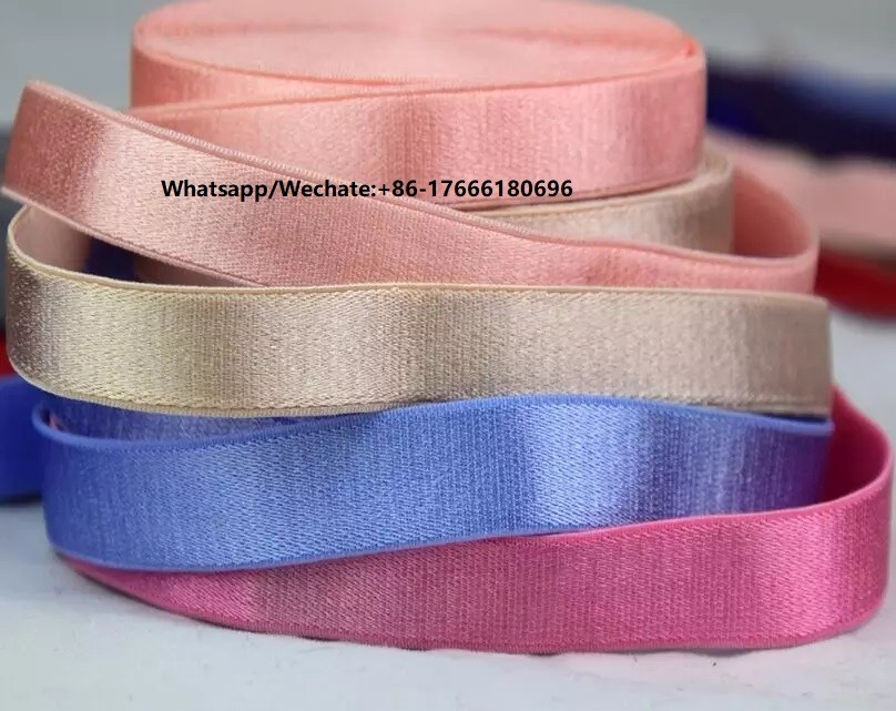 Cheap Price White Elastic Tape Stocklot,Nylon Elastic Strap,Bra Elastic Tape